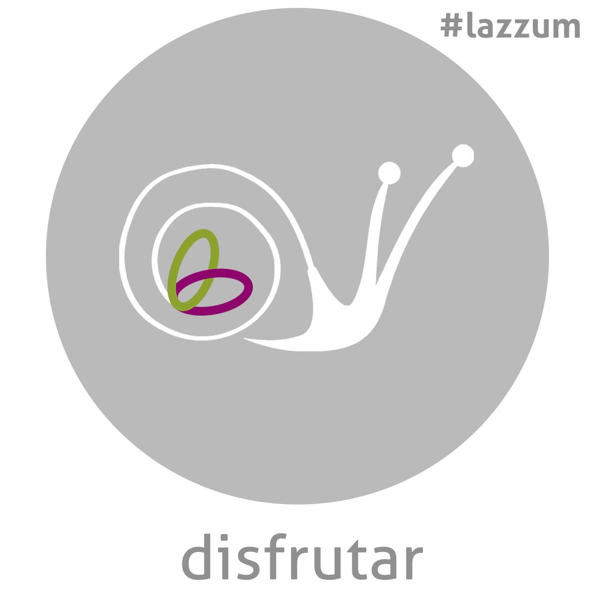 Símbolo_disfrutar&LogoLazzum
