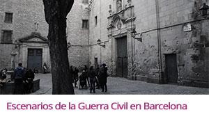 Enlace al álbum fotográfico Flickr sobre la actividad freelazzum 'Escenarios de la Guerra Civil en Barcelona'. Con la anfitriona lazzer Beatriz. [realizada sábado 20 de febrero a las 17h.]