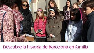 Enlace al álbum fotográfico Flickr de la actividad freelazzum 'Descubre la historia de Barcelona en familia'. Con la anfitriona lazzer Aurora. [realizada domingo 21 de febrero a las 10:30h.]