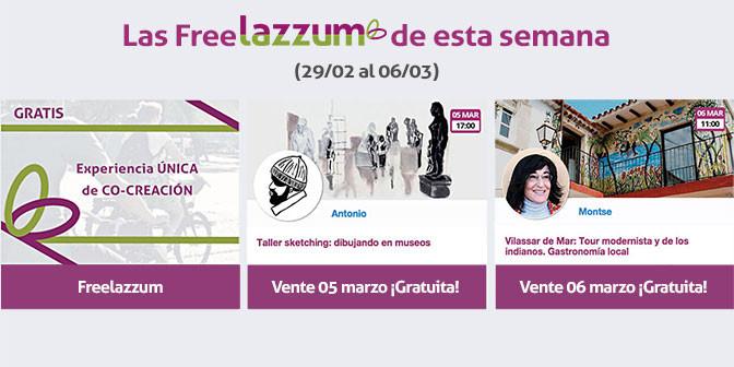 Las freelazzum de esta semana (29/02 al 06/03)