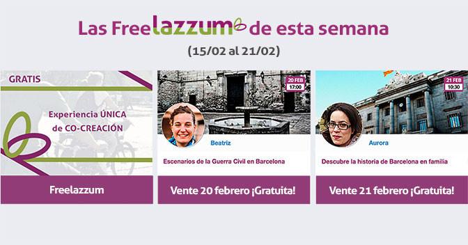 Las Freelazzum de esta semana (15 al 21 Febrero)