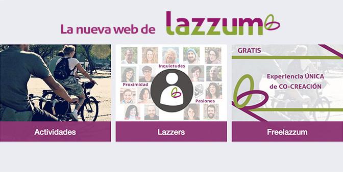 ¡La web de lazzum ya está aquí!