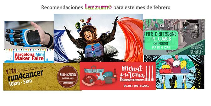 Recomendaciones Lazzum para el mes de Febrero