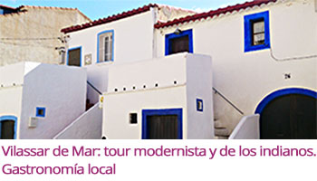 Enlace al álbum fotográfico Flickr sobre la actividad freelazzum 'Vilassar de Mar: tour modernista y de los indianos. Gastronomía local'. Con la anfitriona lazzer Montse. [realizada domingo 06 de marzo a las 11h.]