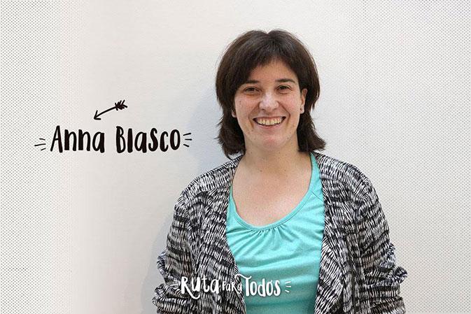 Anna Blasco, una de los 3 ganadores de #RutaparatodosBCN, ha diseñado la 'Ruta present: Un paseo por el mindfulness lleno de ideas para llevar.'