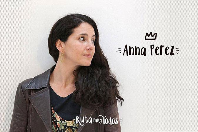 Anna Pérez, una de los 3 ganadores de #RutaparatodosBCN, ha diseñado la ruta ¡¿A qué sabe Barcelona?': Un paseo por el mindfulness lleno de ideas para llevar.' Promoviendo hábitos de alimentación saludable y consciente.