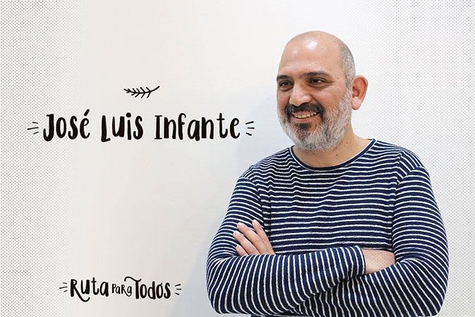 José Luis Infante, uno de los ganadores de #RutaparatodosBCN, ha diseñado la ruta de 'los Guardianes de la Memoria de Sants (Oficios antiguos en peligro de extinción)'.